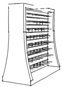 SketchUp, Retail Gondolas
